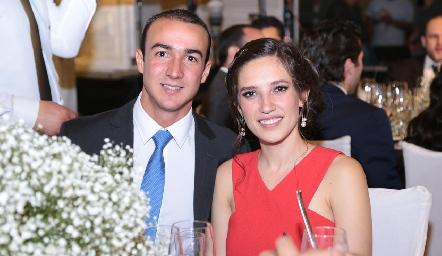 Alejandro Villalobos y Valeria Rangel.