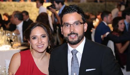 María Fernanda Rangel y Norberto Revilla.