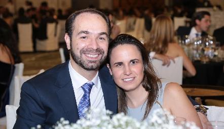 Armando Baraldi y Priscila Barrantes.