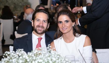 Luis Amodio y Lucila Coudurier.
