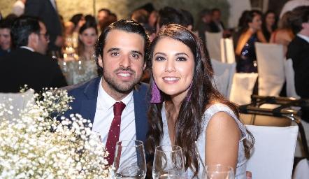 Samuel Romo y Ana Villanueva.