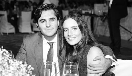Javier Gómez y Ana Laura González.