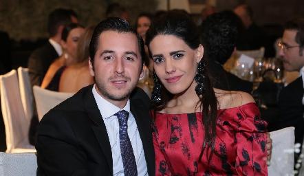 Pablo Urquiza y María Amieva.
