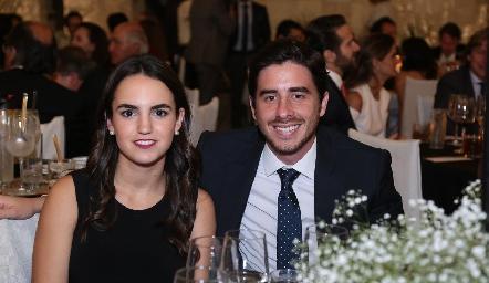 Andrea López y Mauricio González.