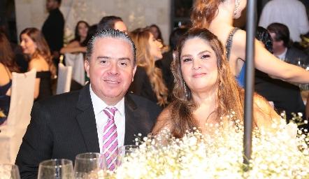 Luis Revuelta y Alicia Álvarez.