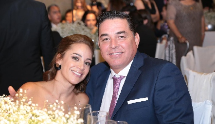 Paulina Castillo y José Luis Guajardo.