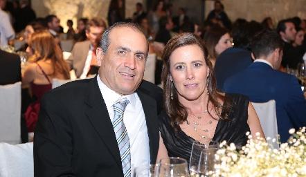 Miguel Ortiz y Mara Zermeño.