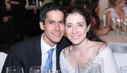 Andrés Martínez y Lizzet.