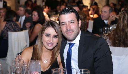 Sofía Saucedo y Andrés González.