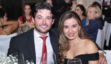 Oscar Rangel y Brenda Magaña.
