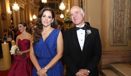Eva Álvarez y Gustavo Rangel, papás de Ana Pao.