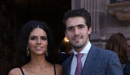 Ana Paula de la Fuente y Gerardo Gómez.