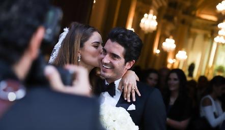 Ana Pao y Chema ya son esposos.