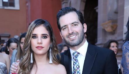 Gaby Lambert y Joaquín Olmos.