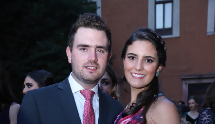 Jorge Mendizábal y María Dolores Gómez.