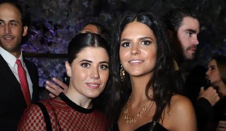 Mariela Motilla y Ana Paula de la Fuente.