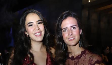Daniela Rangel y Paulina González.