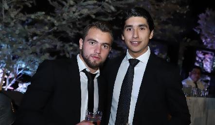 Memo Pizzuto y Miguel Tobías.
