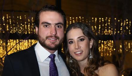 Manuel Saiz y Mónica Torres.