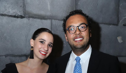 Luly Lamas y Javier Campos.
