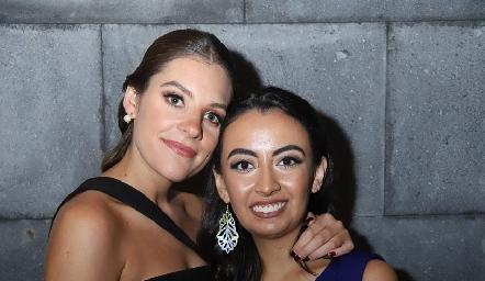 Bety Hernández y Maru Payán.