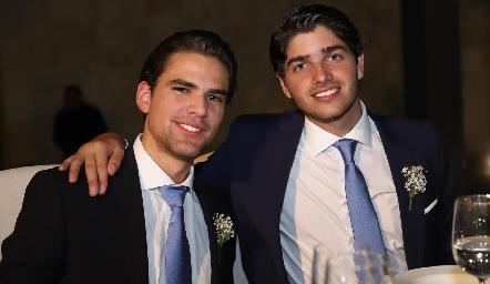 Gustavo Rangel y Santiago Gómez.