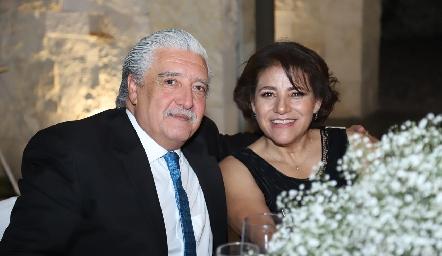 Felipe Botello y Yolanda Martínez.