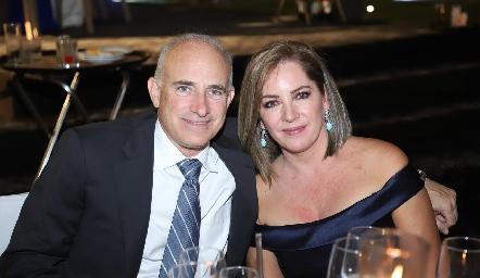 Manuel González y Ana Laura García.