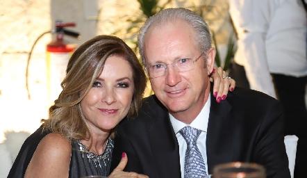 Paula Sánchez Navarro y Marcelo Barrantes.