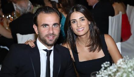 Gerardo Cortina y Daniela Bejos.