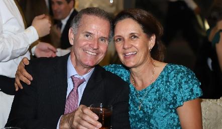 Carlos Hernández y Martha Martínez.