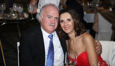 Alejandro Hernández y Pilar Martínez.