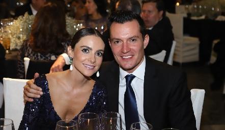 Lourdes Gómez y Ricardo Urquiza.