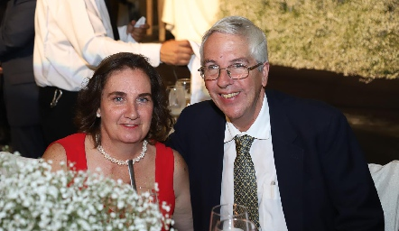 Patricia Wiechers y José Luis Diego.