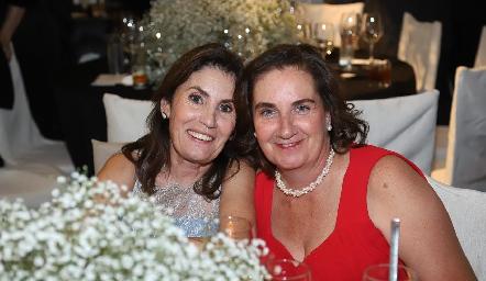 María José Urquiza y Patricia Wiechers.