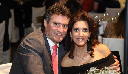 Jorge Gómez y María Dolores Hernández.