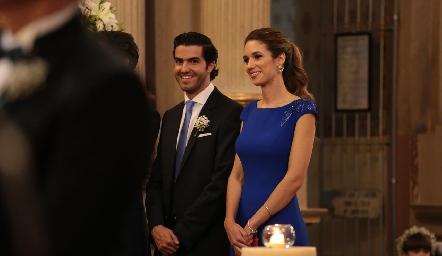 Pollo Gómez y María Stevens.