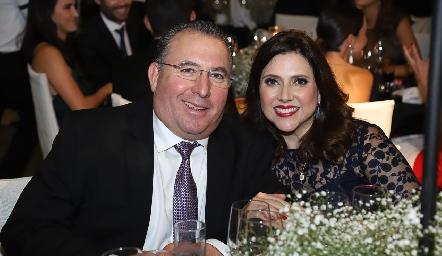 Alejandro y Claudia Bremer.