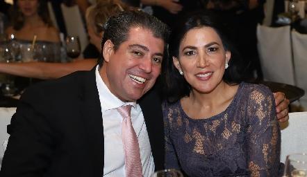 Daniel de Luna y Claudia Pozos.