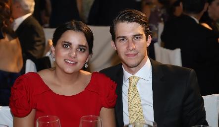 Ana García y Emilio Allende.