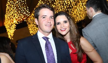 Javier Meade y Jessica Martín Alba.