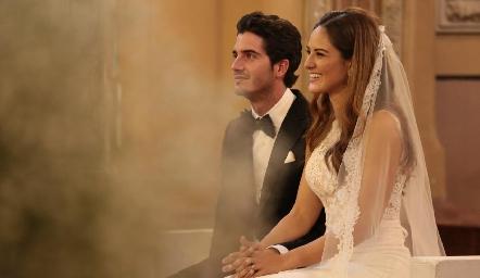Chema Gómez y Ana Pao Rangel.