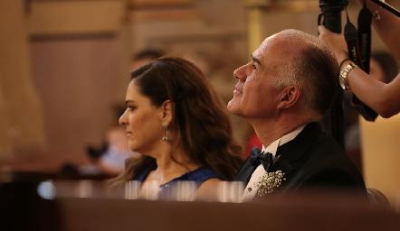 Eva Álvarez y Gustavo Rangel.