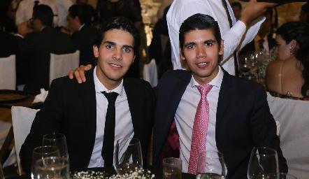 Mauricio Tobías y Rafael Tobías.