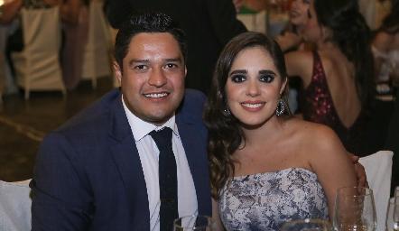 Raymundo Blanco y Ana Sofía Ascanio.