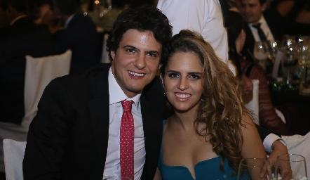 José Cabrera y Macarena Gómez.