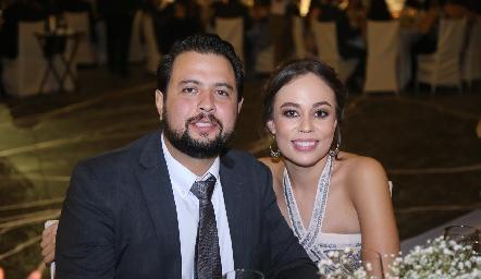 Fernando Dibildox y Fernanda Torres.