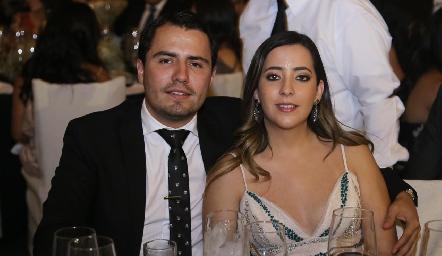 Jaime Salinas e Isabel Albas.