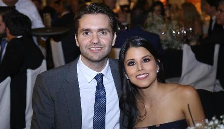Ricardo Espinosa y Lucía González.