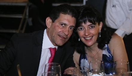 José Luis Contreras y Marusa Maza.